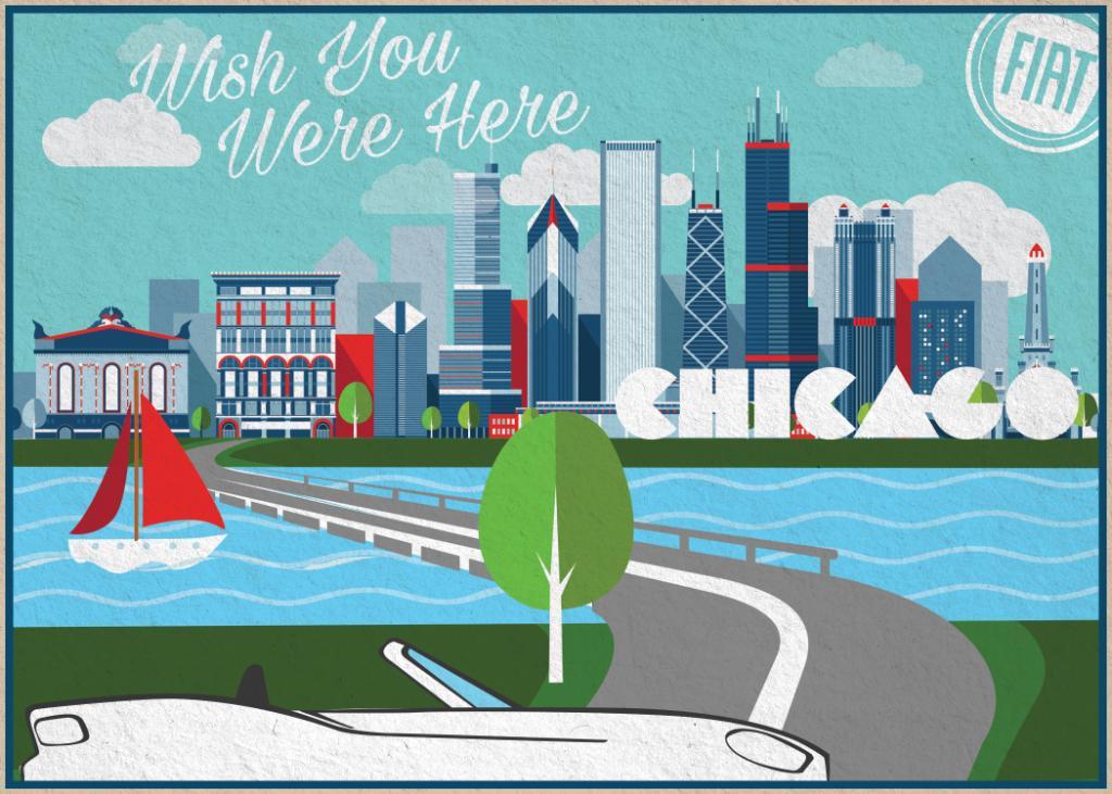 Fiat 124 Spider - teaser - Los Angeles Auto Show 2015 - FIATFOMO - Chicago