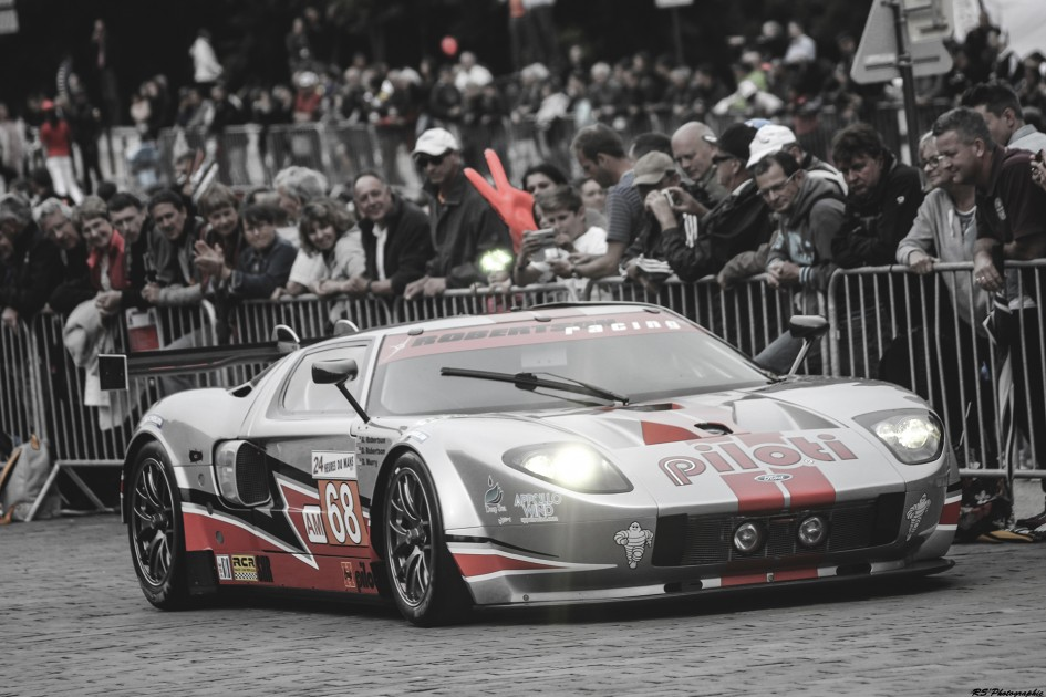 Parade des pilotes 2016 - Ford GT LM - Arnaud Demasier RS Photographie