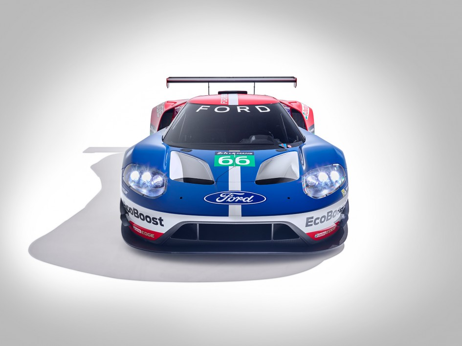 Ford GT LeMans Race Car 2016 - face avant / front