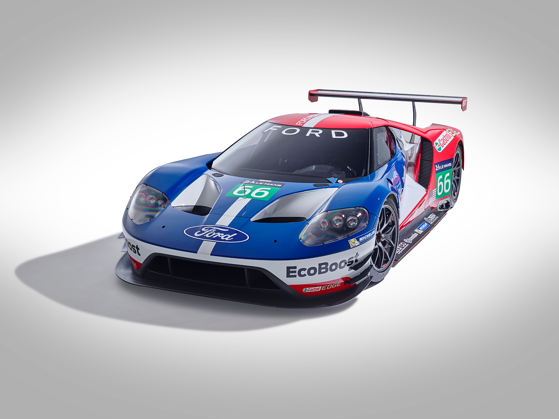 Ford GT LeMans Race Car 2016 - avant / front
