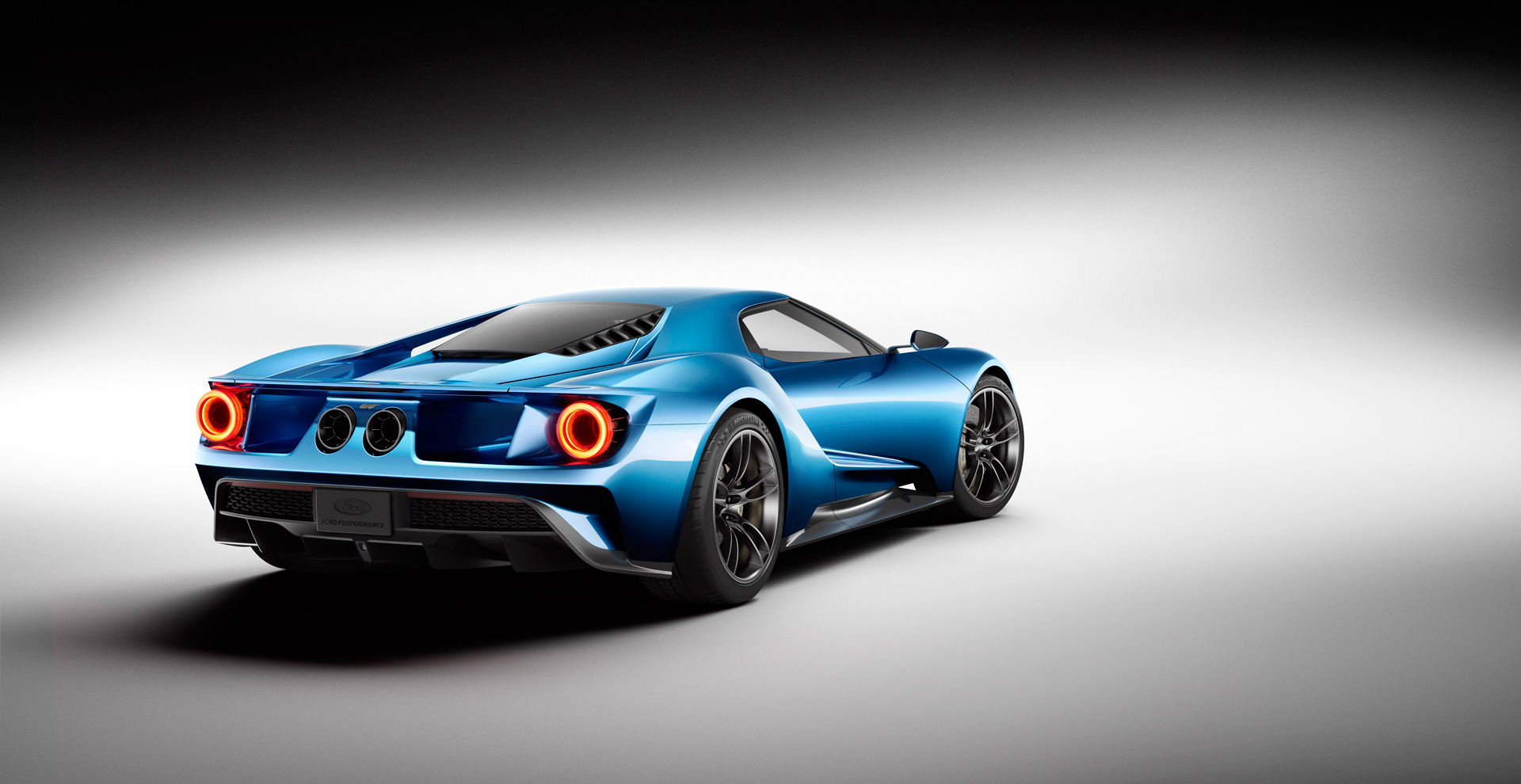 2016 All-New Ford GT - arrière - Ford