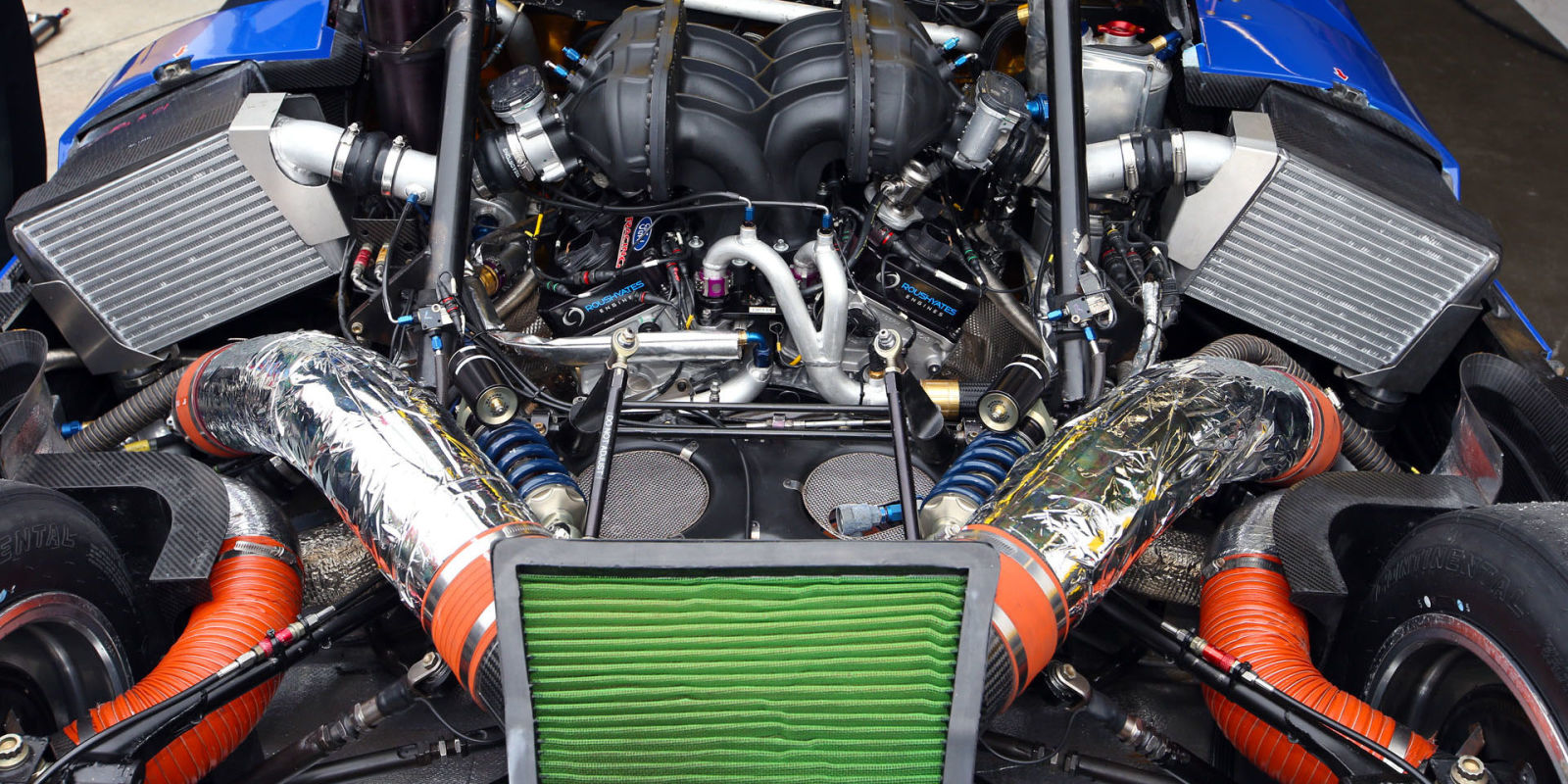 Ford GT 2016 - moteur / engine - photo Marshall Pruett