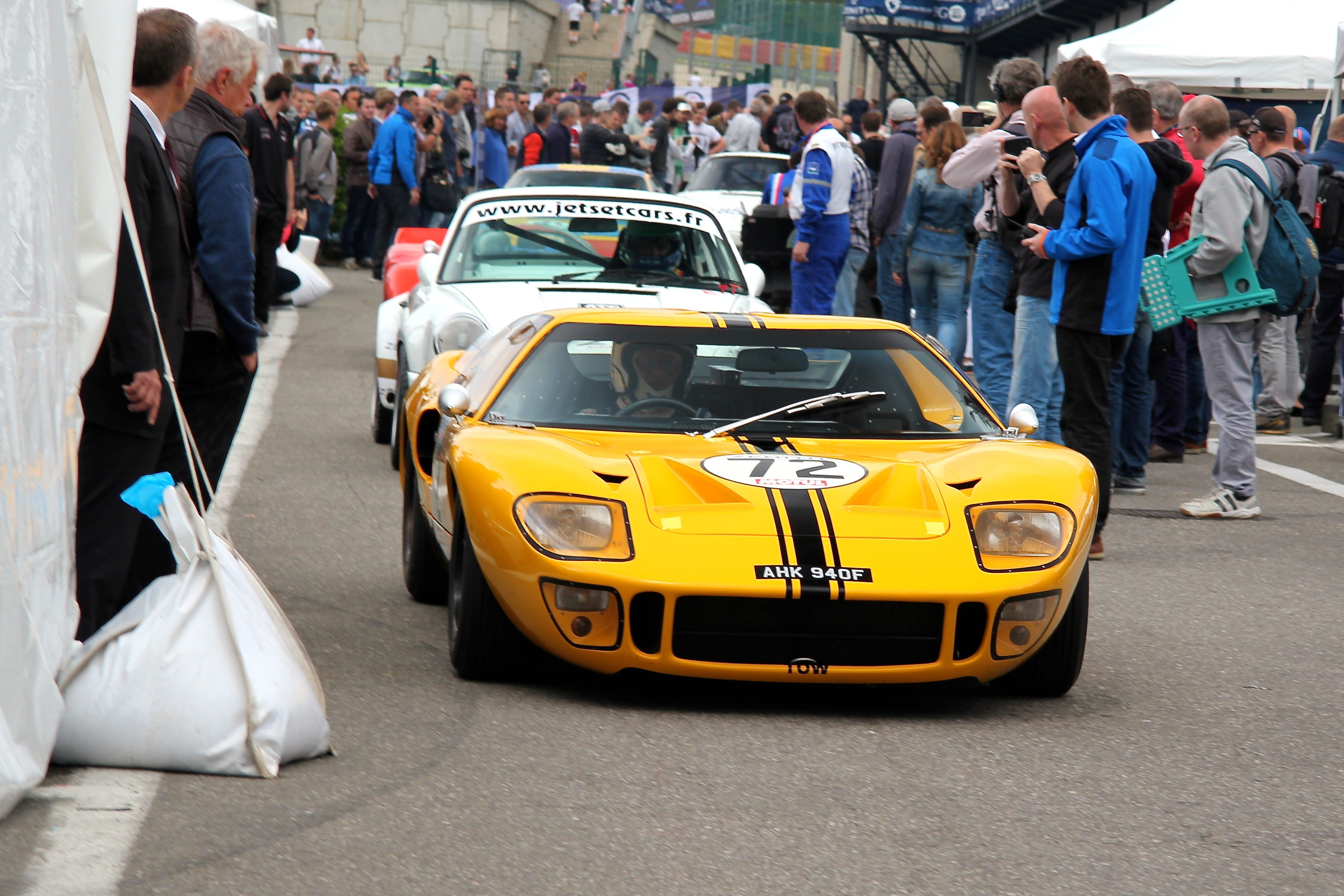 1967 Ford GT40 - Spa-Classic 2015 - Photographie Ludo