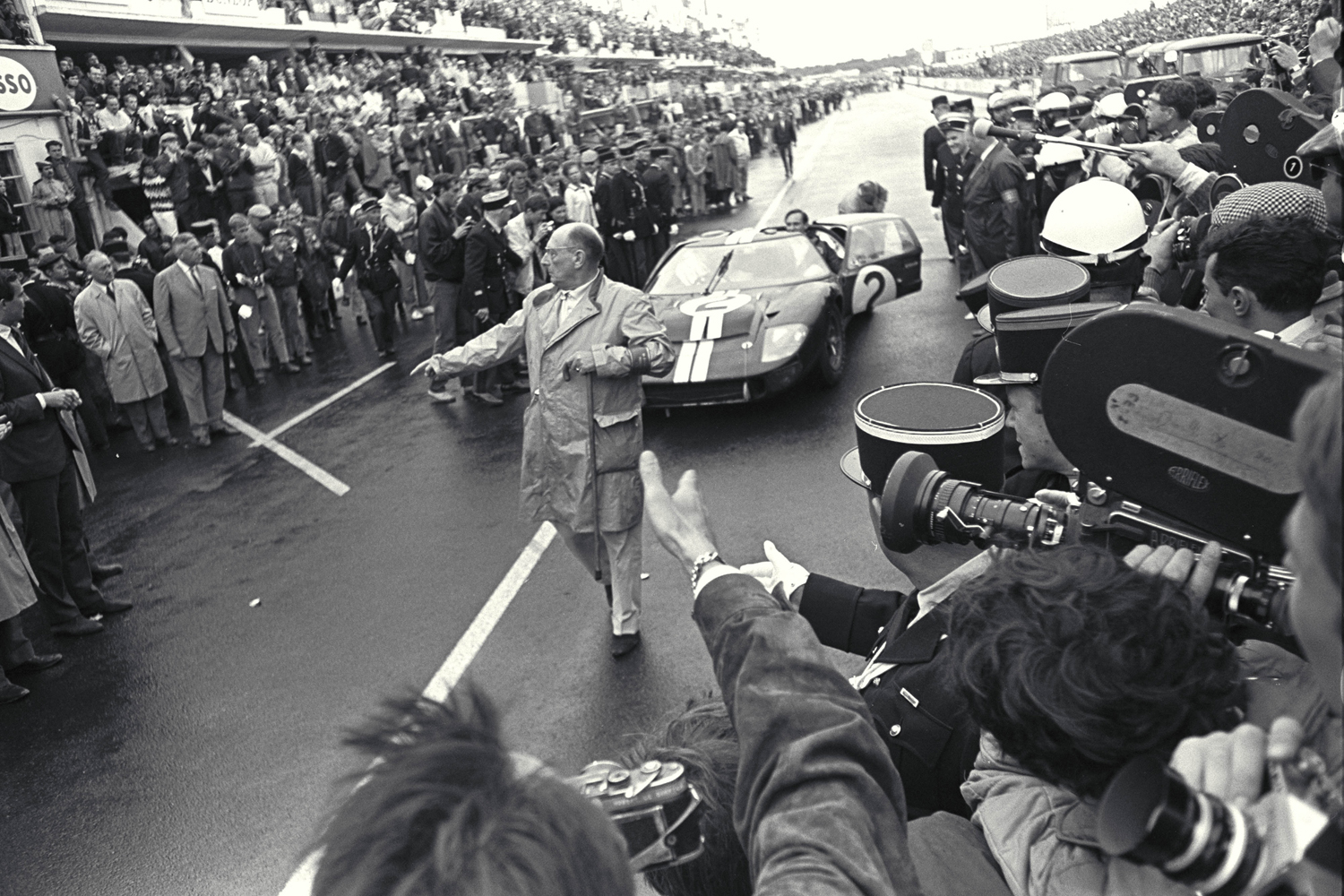 Ford GT40 - Bruce McLaren - victory 24 Hours of Le Mans - 1966