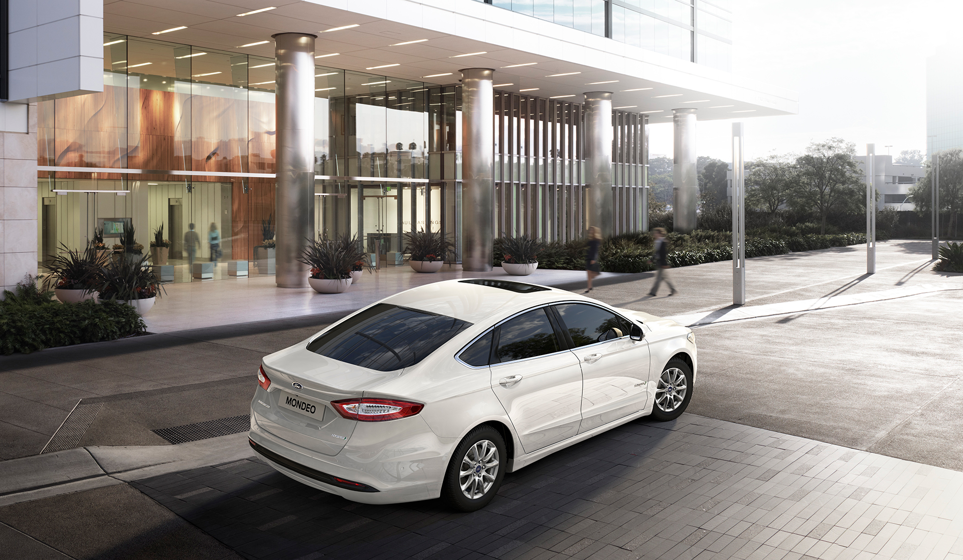 Ford Mondeo Hybrid 2015 - arrière / rear