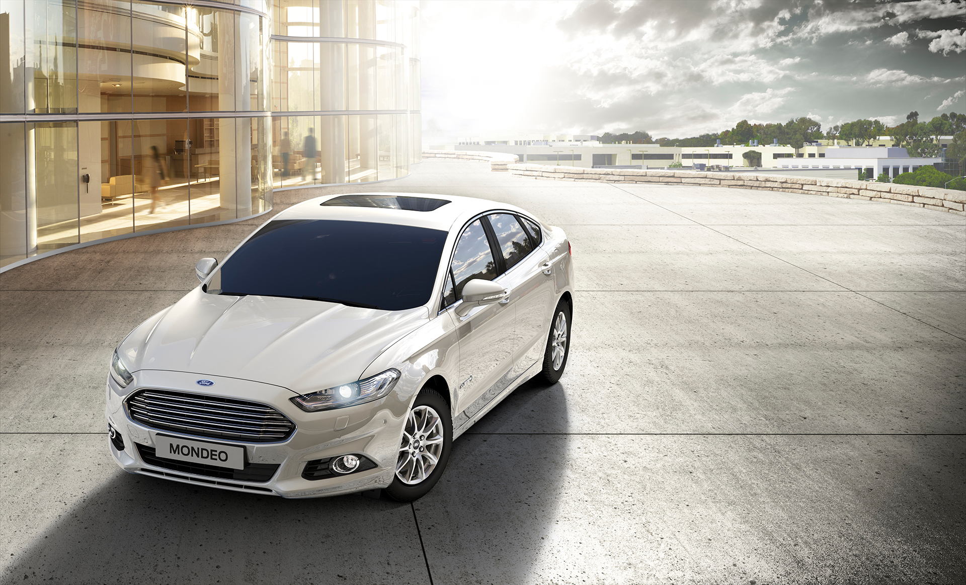 Ford Mondeo Hybrid 2015 - avant / front