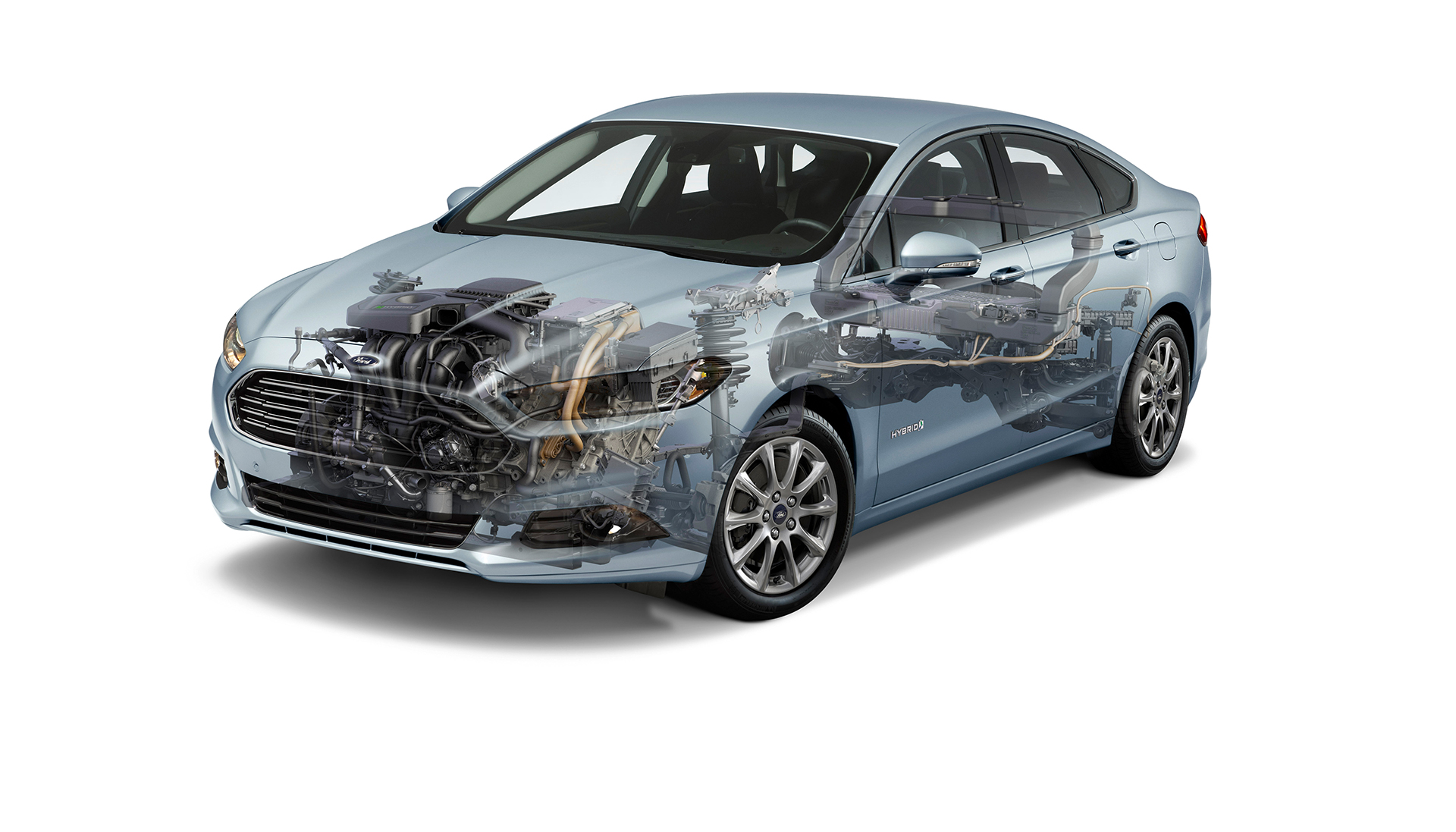 Ford Mondeo Hybrid 2015 - powertain