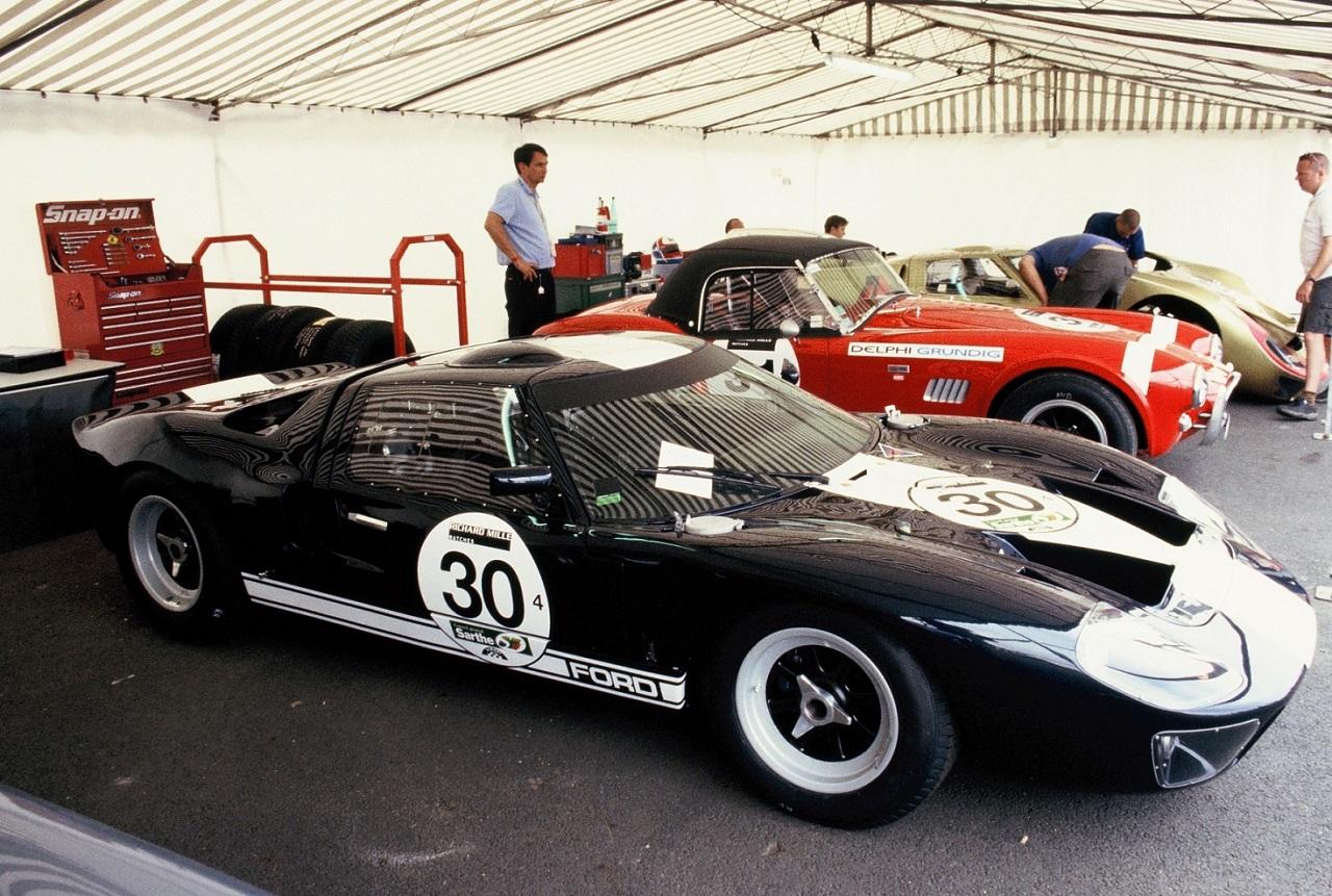 Ford Roi du Mans 1966  - Rallyes Véhicules Historiques de Compétition - Photographie : Thierry Le Bras