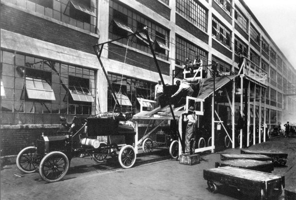 Ford T - 1913 photograph Ford company, USA