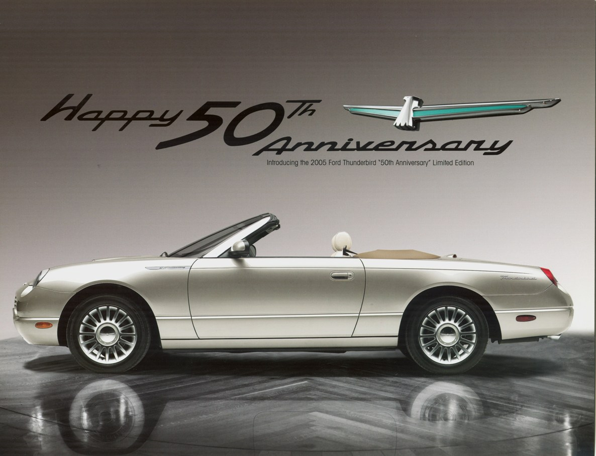 Ford Thunderbird 50th Anniversary Edition - 2005 - via Ford Worldwide Advertising