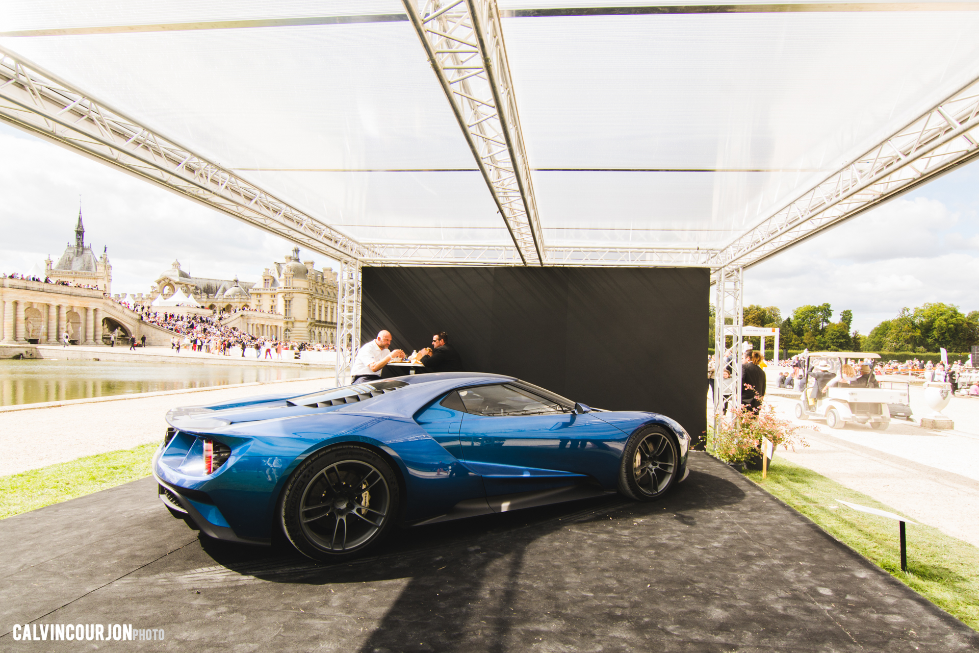 Ford GT concept-car 2015 - Chantilly 2015 – photo Calvin Courjon