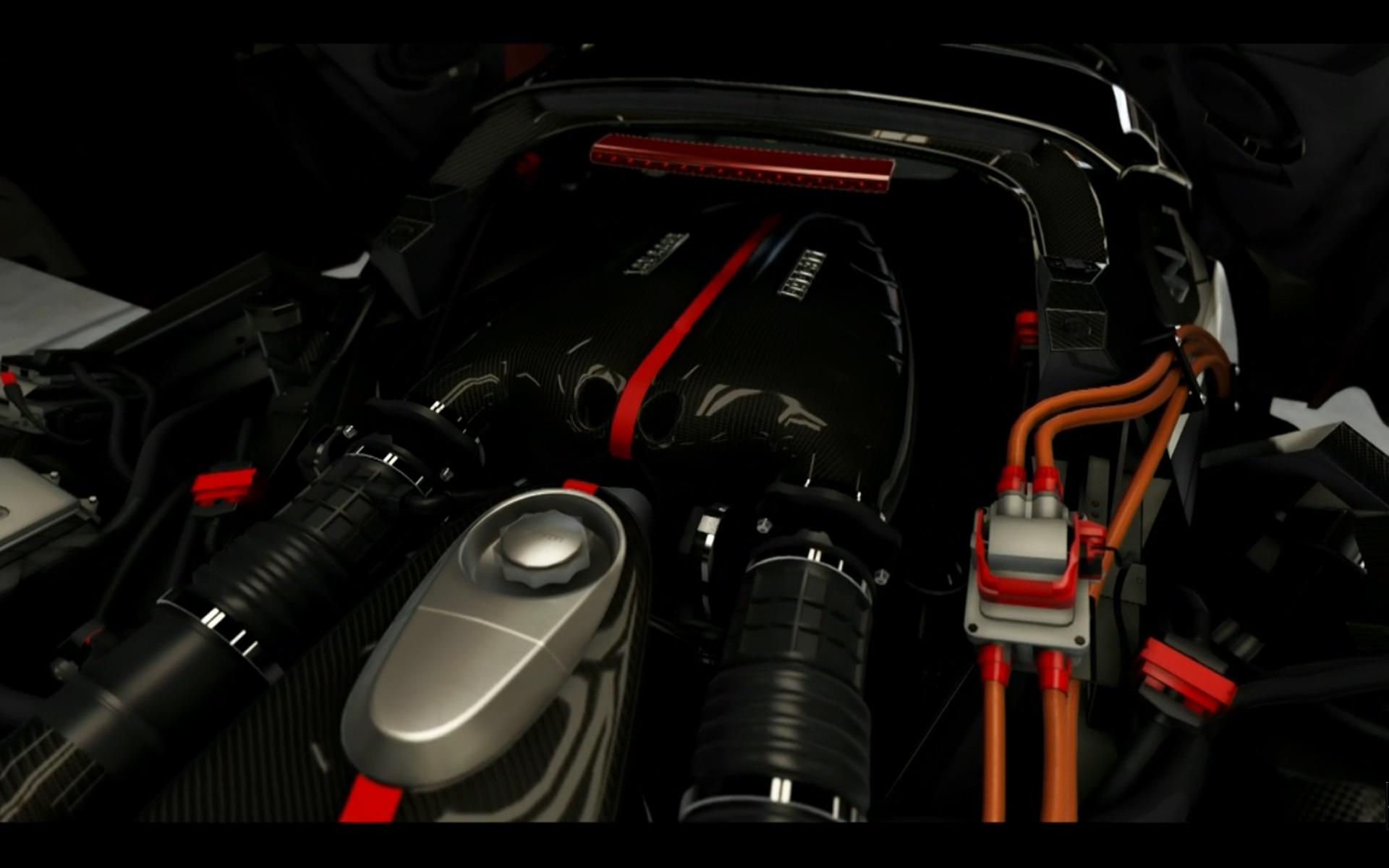 Forza Motorsport 6 - Ferrari engine