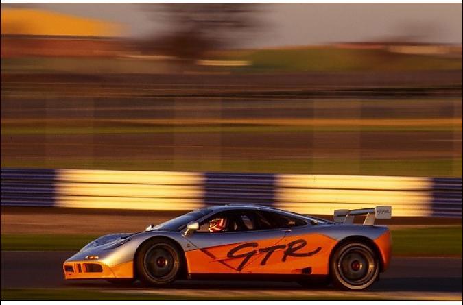 Mclaren F1 GTR numero 01R