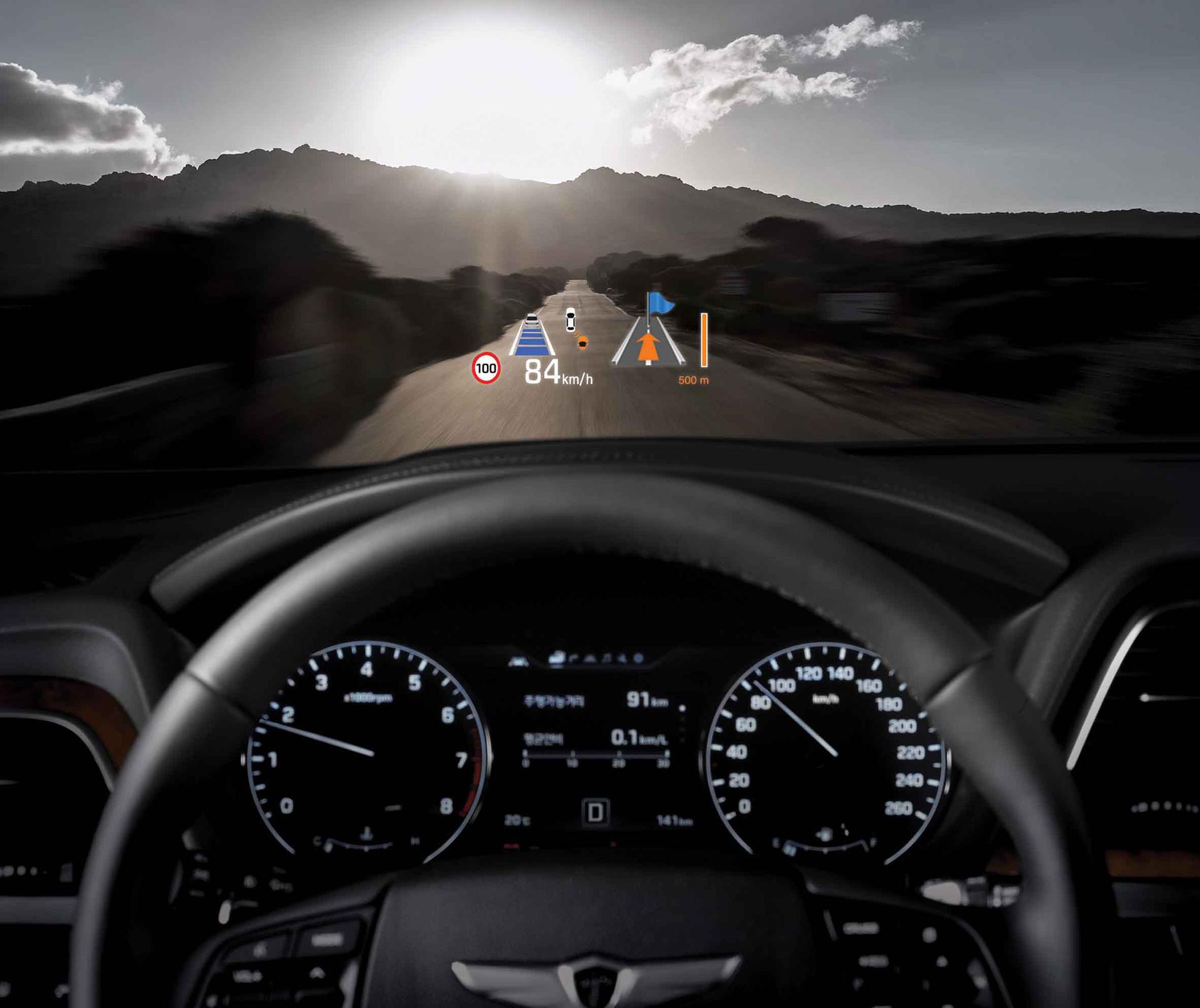 Genesis G90 - 2016 - dashboard / tableau de bord