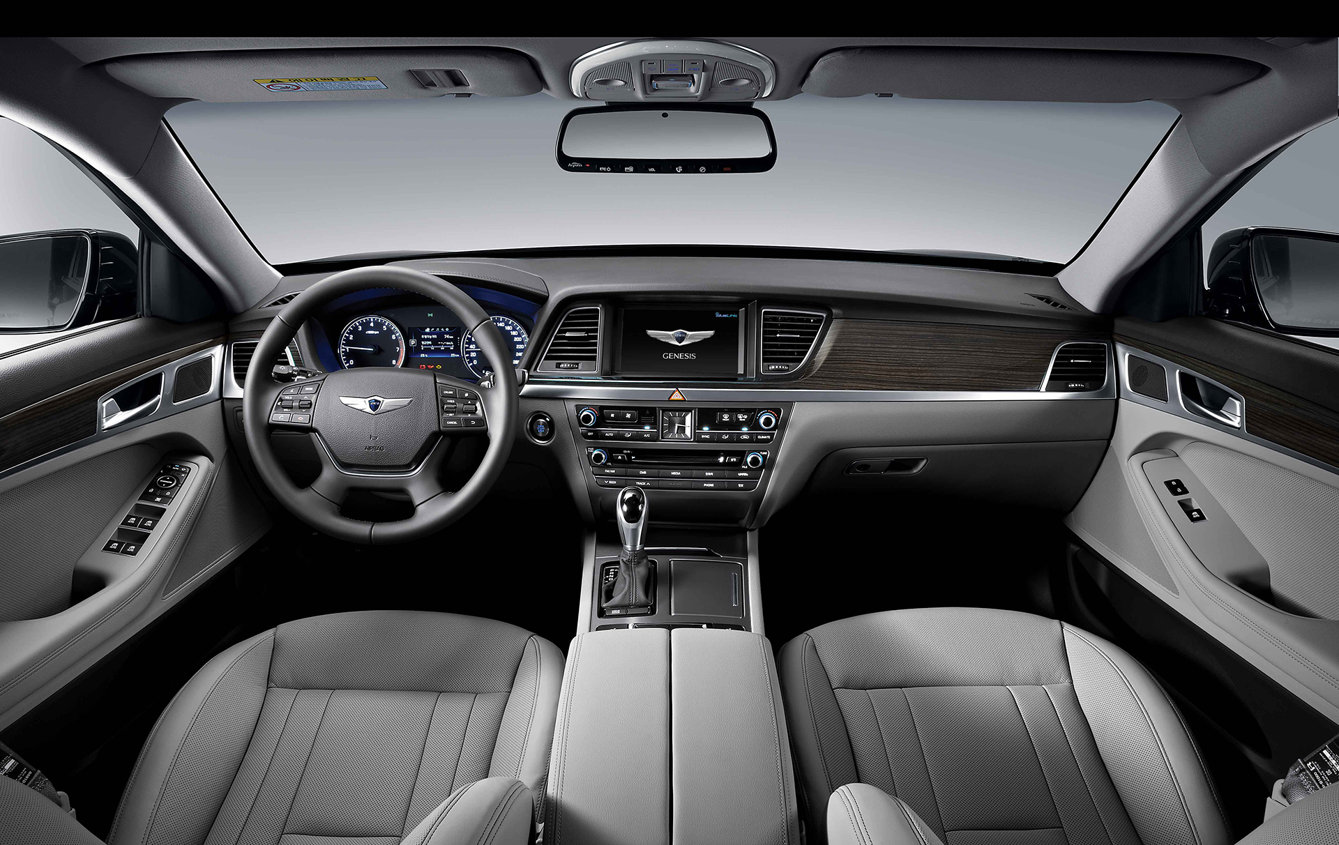 Genesis G90 - 2016 - interior / intérieur