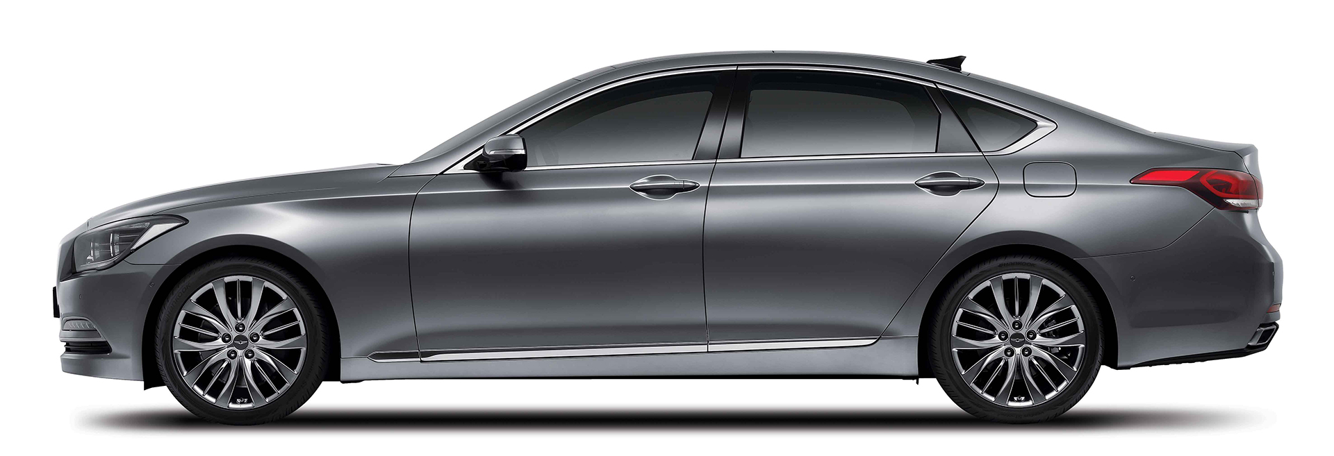 Genesis G90 - 2016 - side-face / profil