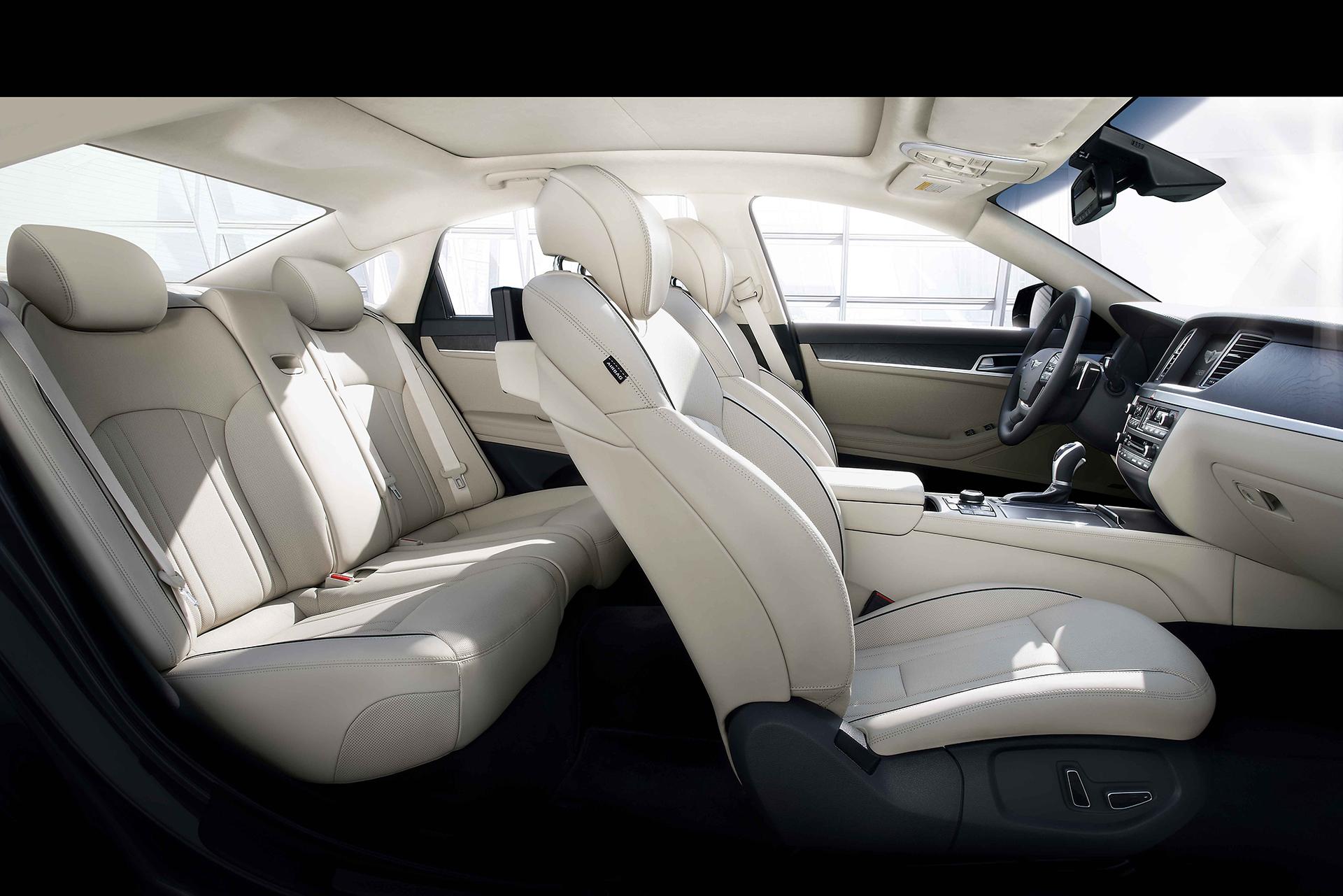 Genesis G90 - 2016 - seats / sièges