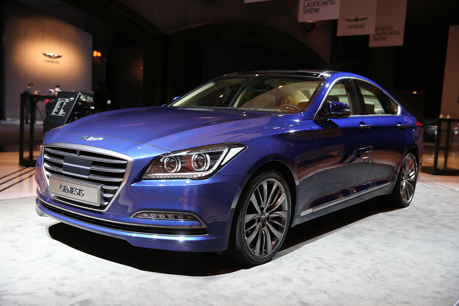 Genesis G90 Launch Event 2015 - photo