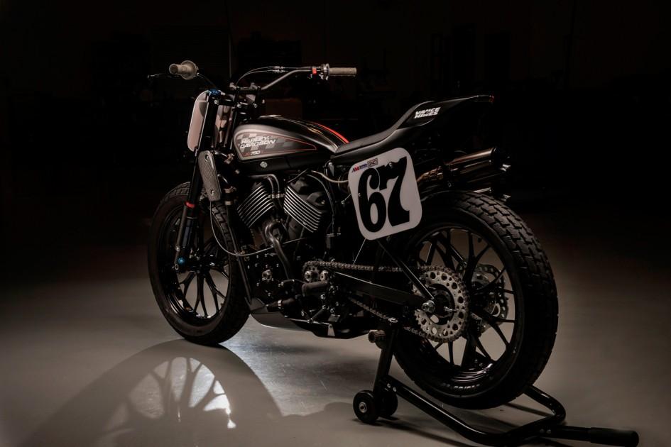 Harley Davidson XG750R - 2016 - rear