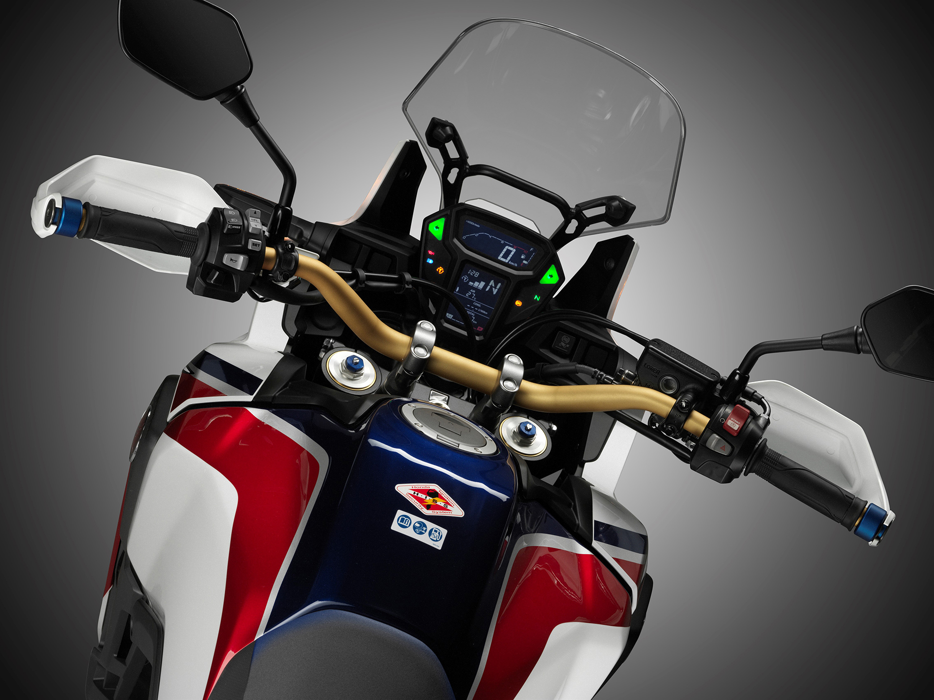 Honda CRF1000L Africa Twin - 2016 - dashboard