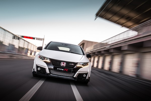Honda Civic Type R - 2015 - front-face / face avant - track / circuit