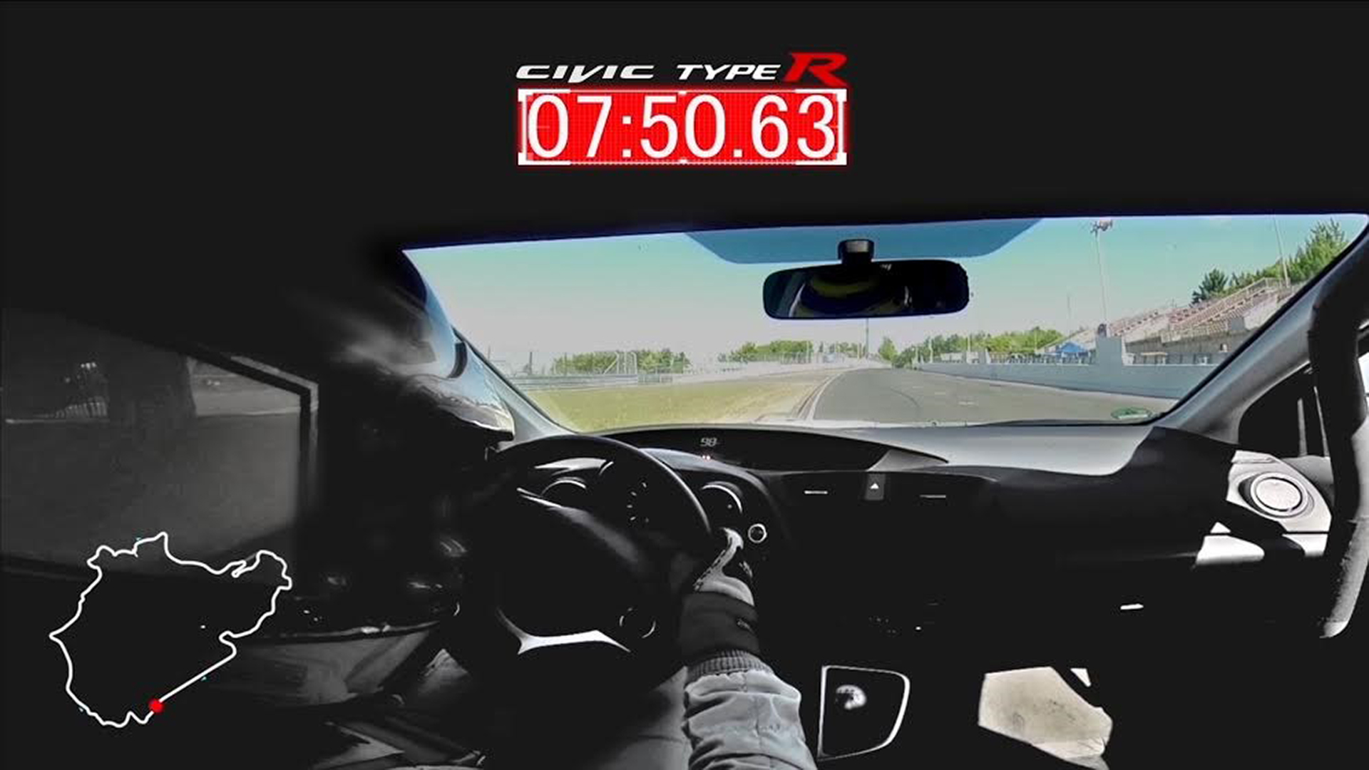 Honda Civic Type R - 2015 - onboard