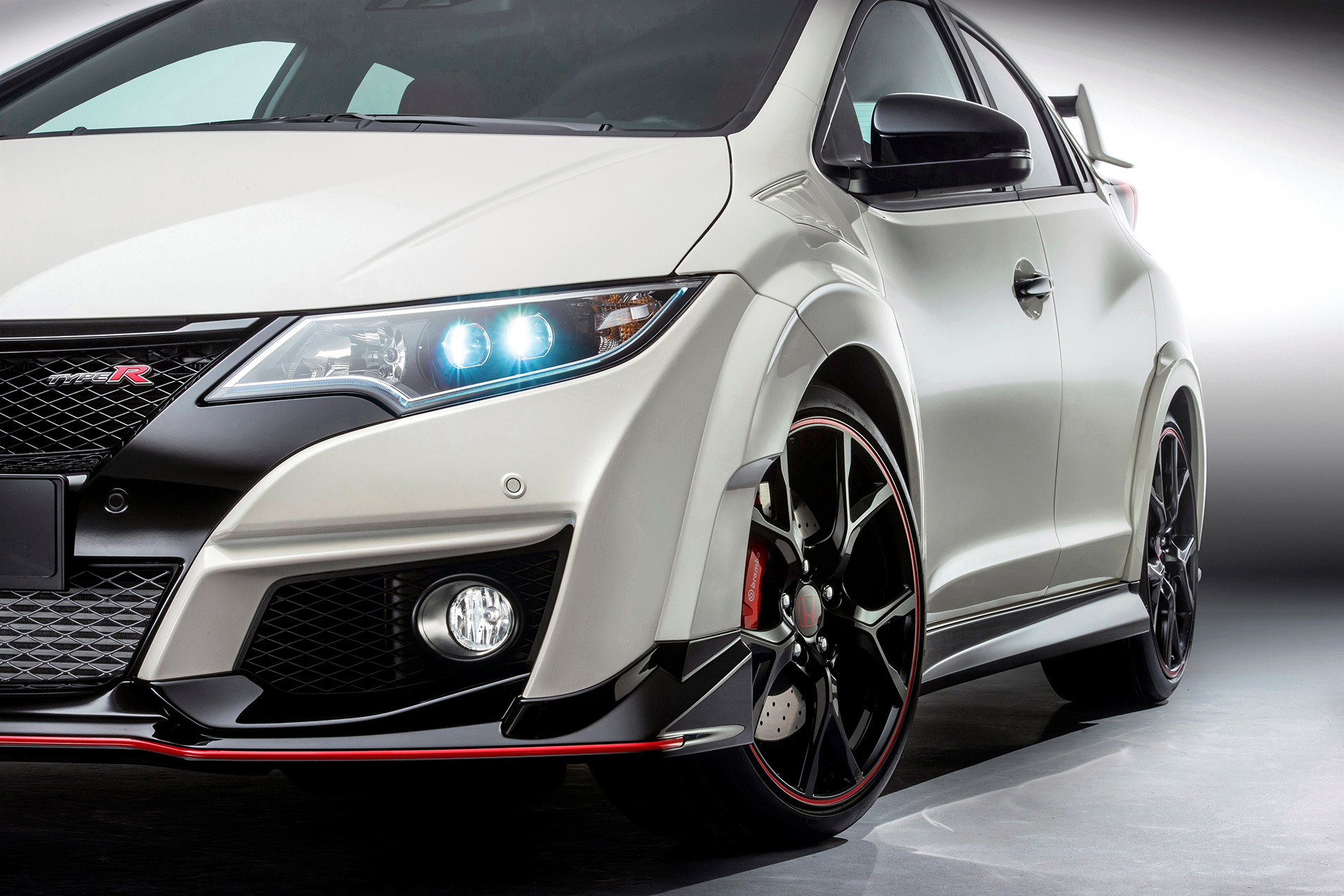 Honda Civic Type R - 2015 - front light / optique avant