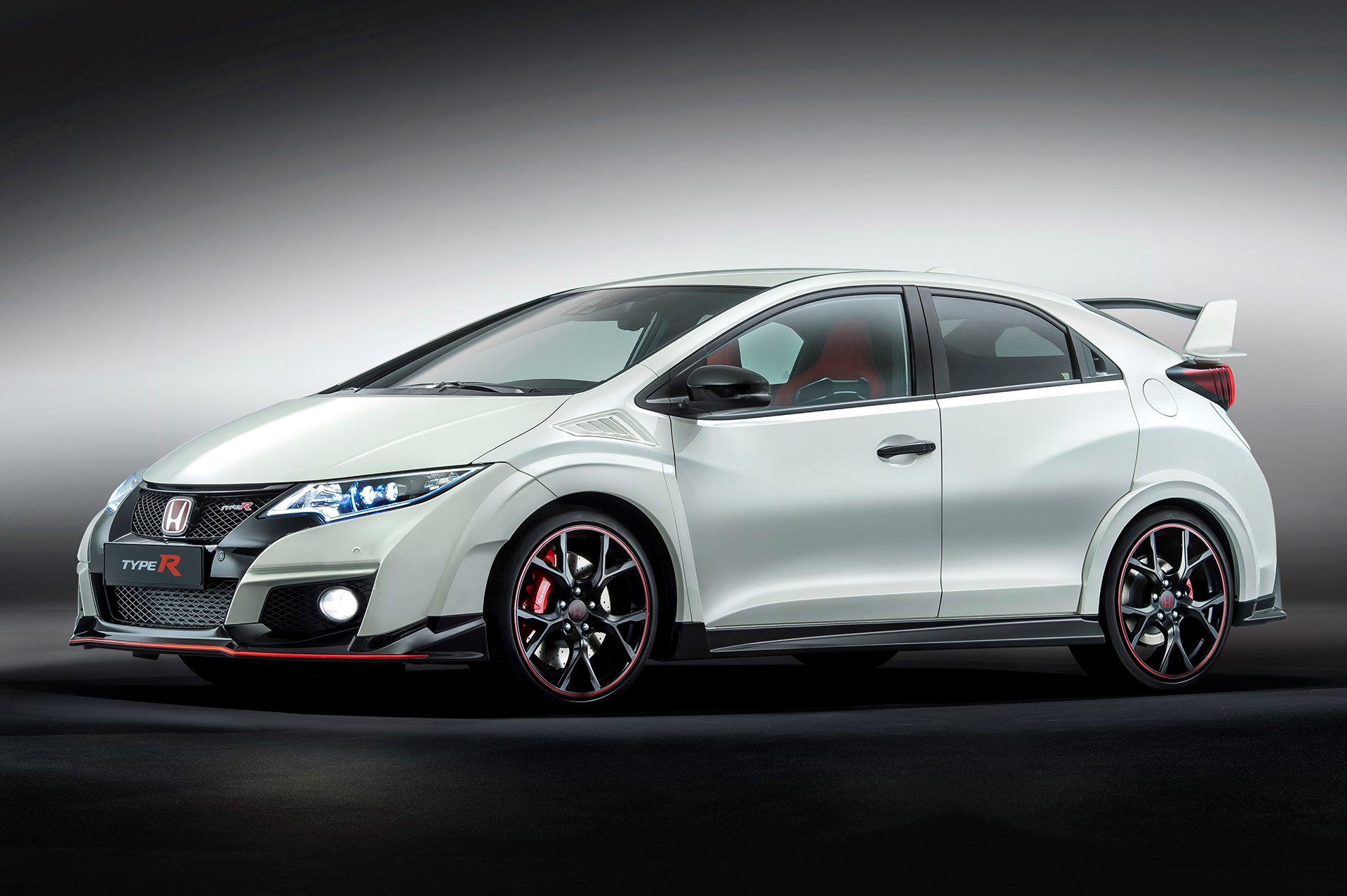 Honda Civic Type R - 2015 - front side-face / profil avant