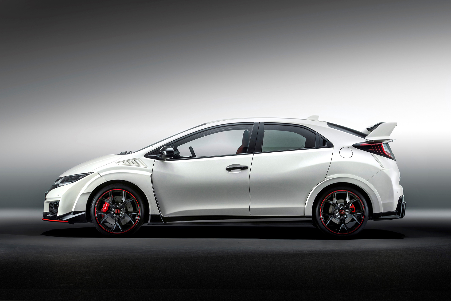 Honda Civic Type R - 2015 - side-face / profil