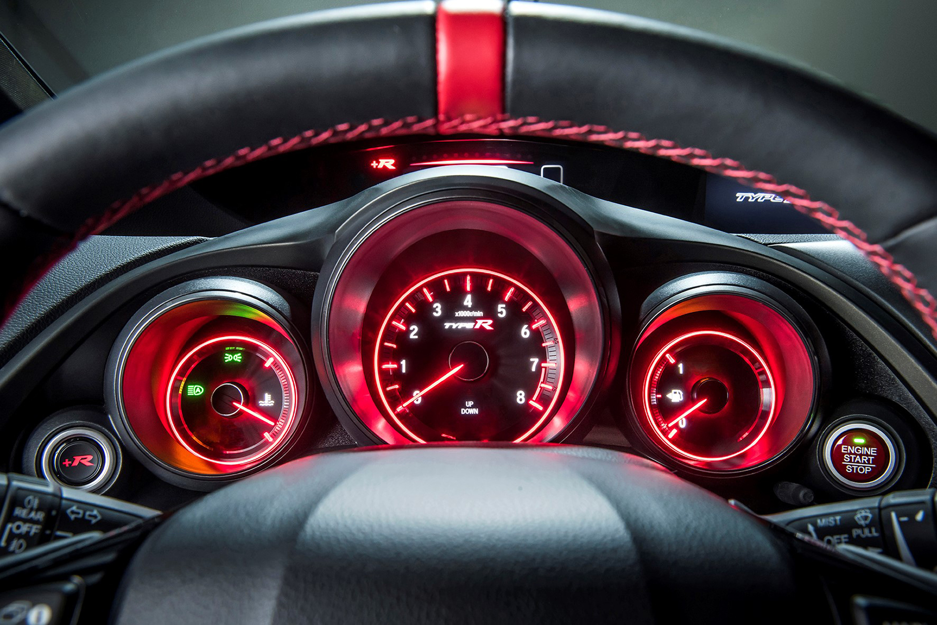 Honda Civic Type R - 2015 - racing wheel / volant