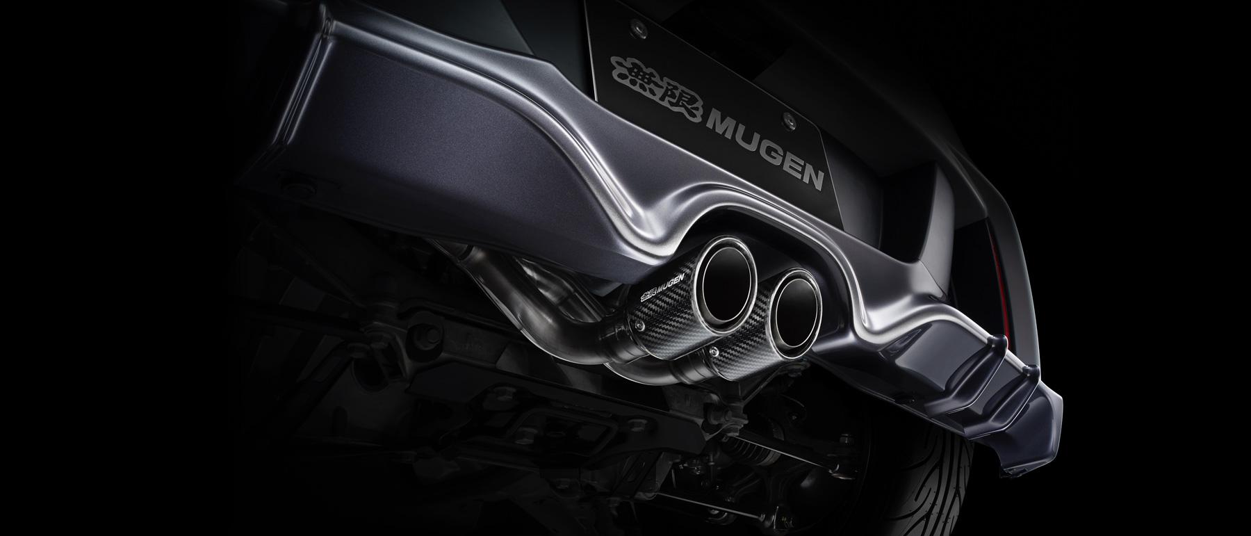 Honda S660 Mugen -2016 - exhaust / sorties de d'échappement