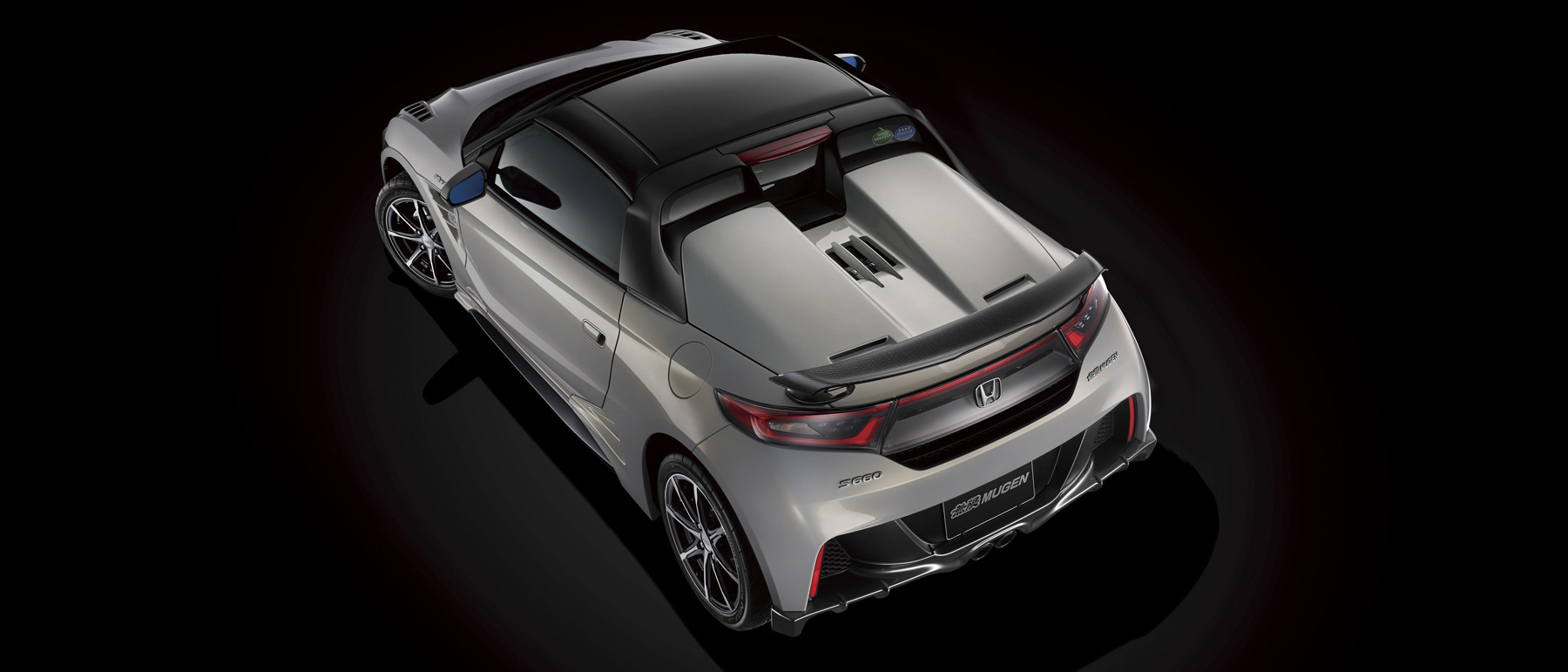 Honda S660 Mugen -2016 - rear top / toit arrière