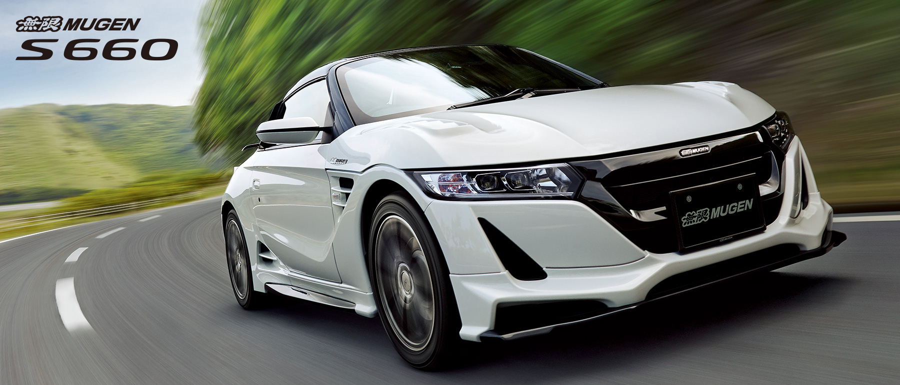 Honda S660 Mugen - 2016 - front / avant - on road / sur route