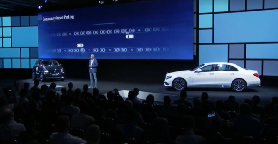 IFA 2016 - Keynote Daimler - Community-based parking