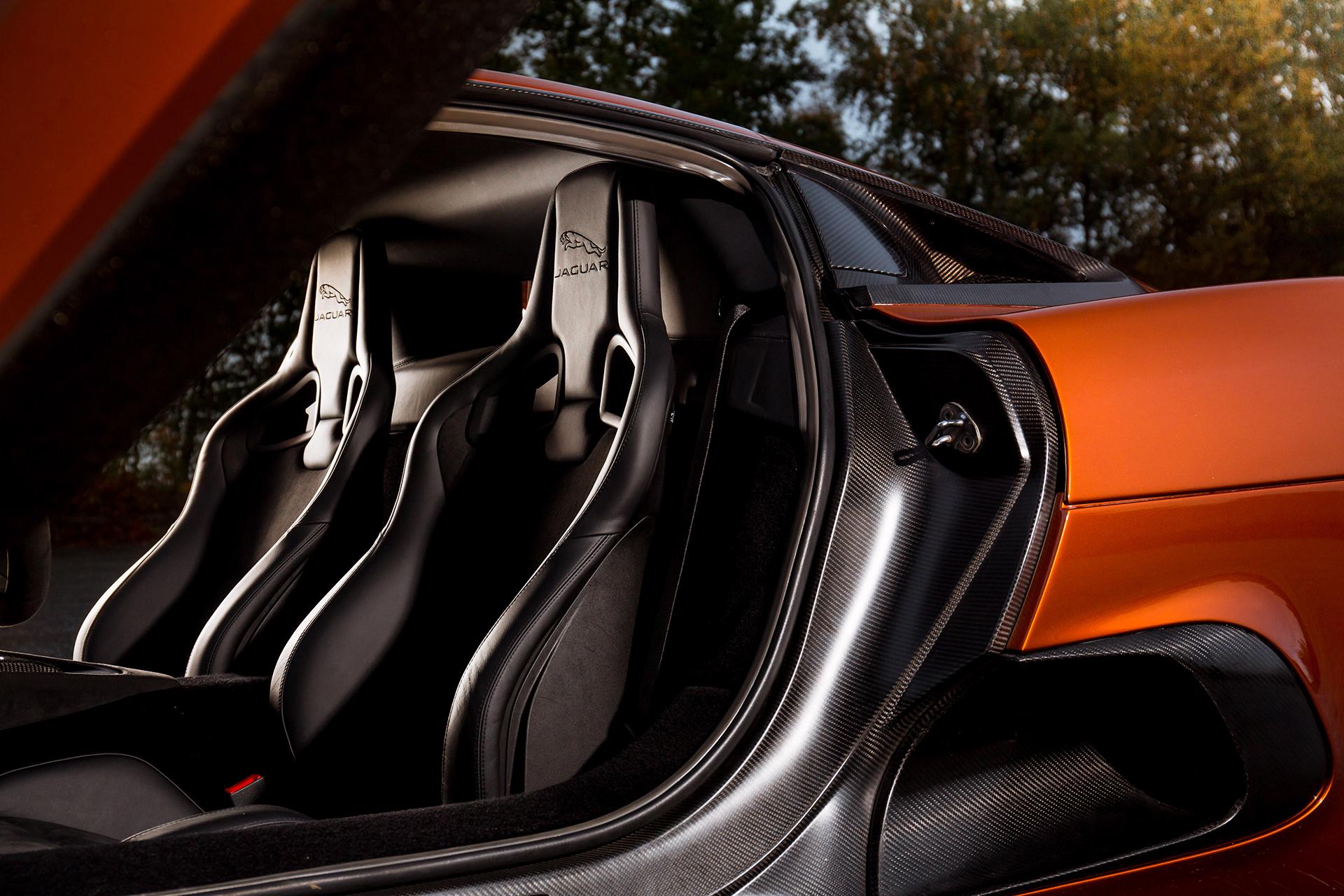 Jaguar C-X75 - Spectre - 2015 - sièges / seats
