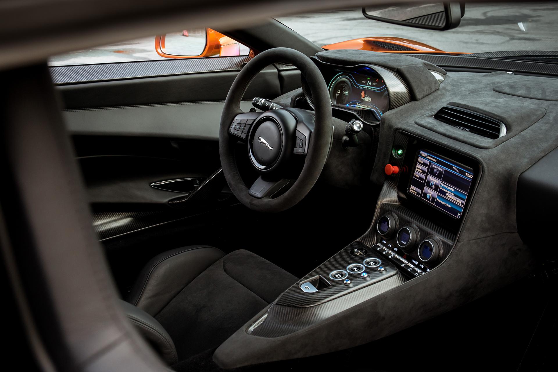 Jaguar C-X75 - Spectre - 2015 - intérieur / interior