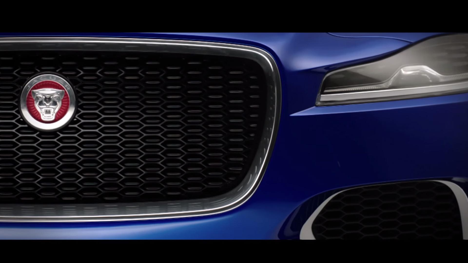 Jaguar F-PACE - avant / front - teaser