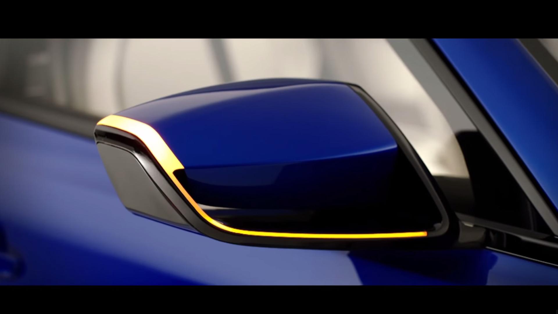 Jaguar F-PACE - rétroviseur extérieur avec clignotant / outside rear-view-mirror with turn signal - teaser