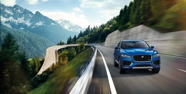 Jaguar F-PACE - front (landscape) / avant (paysage)