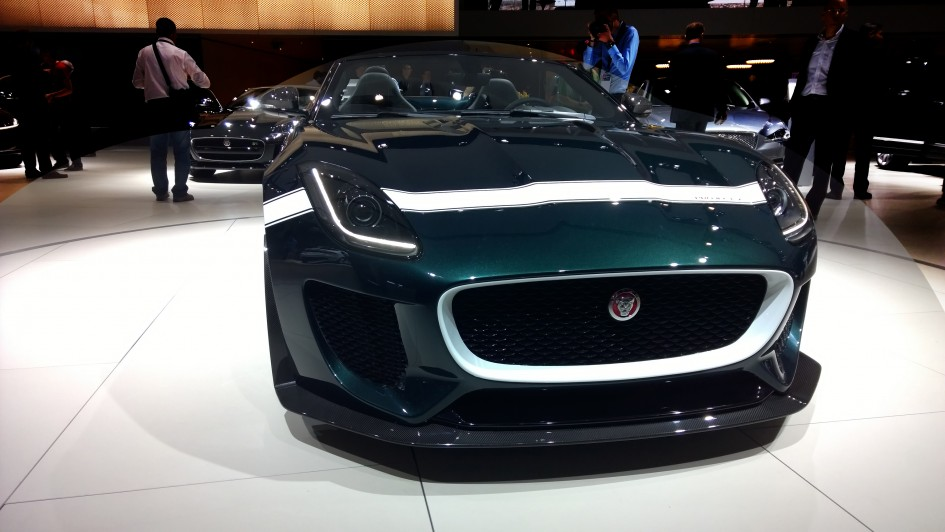 Jaguar Project 7 - Paris 2014 - DESIGNMOTEUR