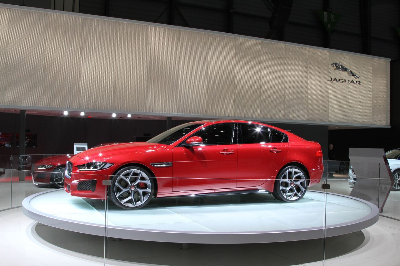 Jaguar XE - Geneva - 2015 - Christophe Gasco