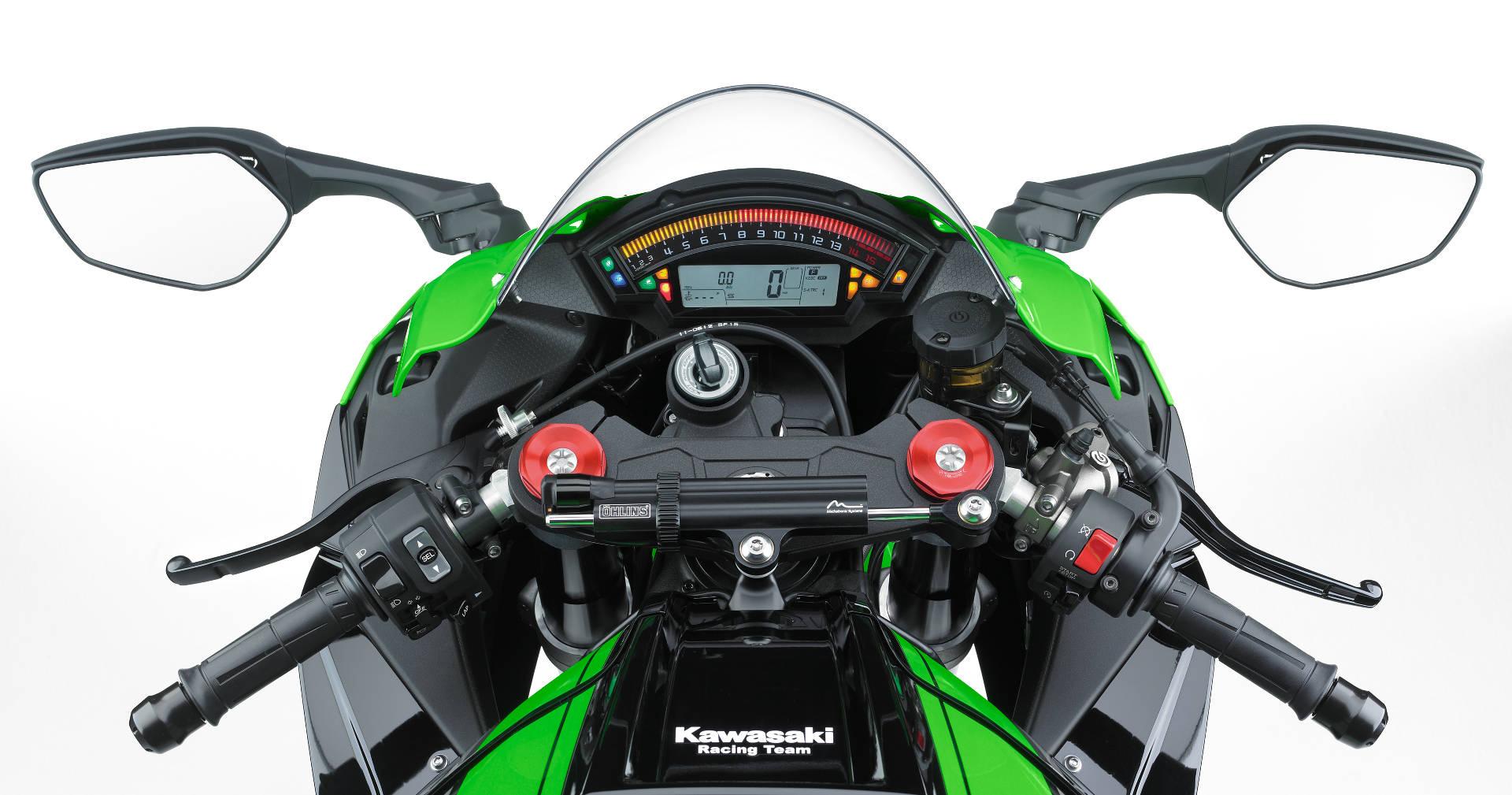 Kawasaki Ninja ZX-10R 2016 - tableau de bord / dashboard