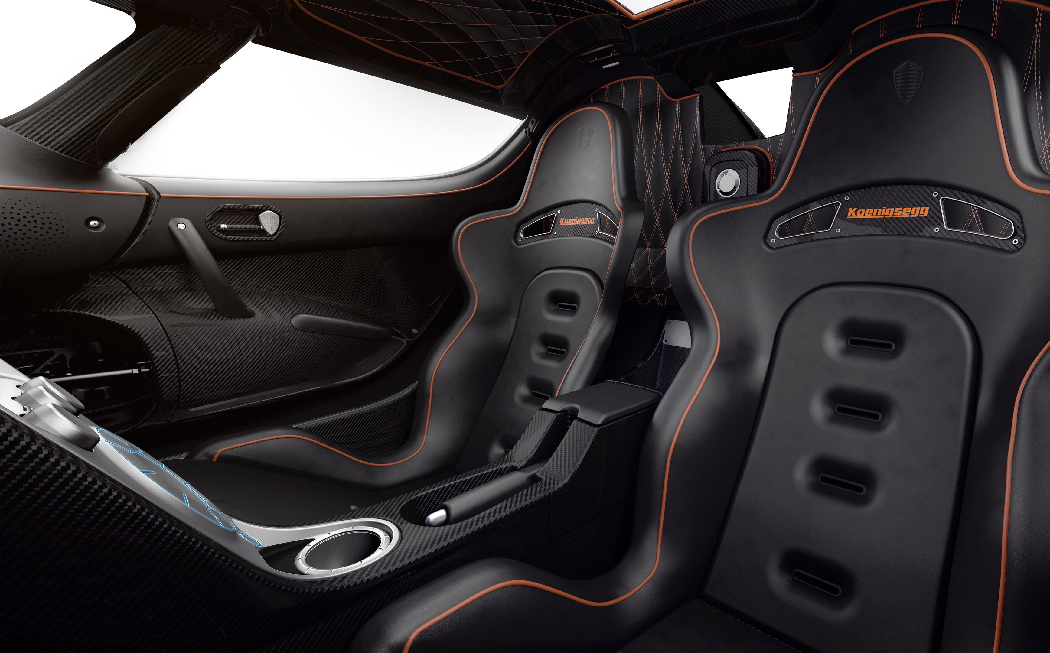 Koenigsegg Agera RS - intérieur sièges