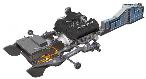 Koenigsegg Regera - motorisation