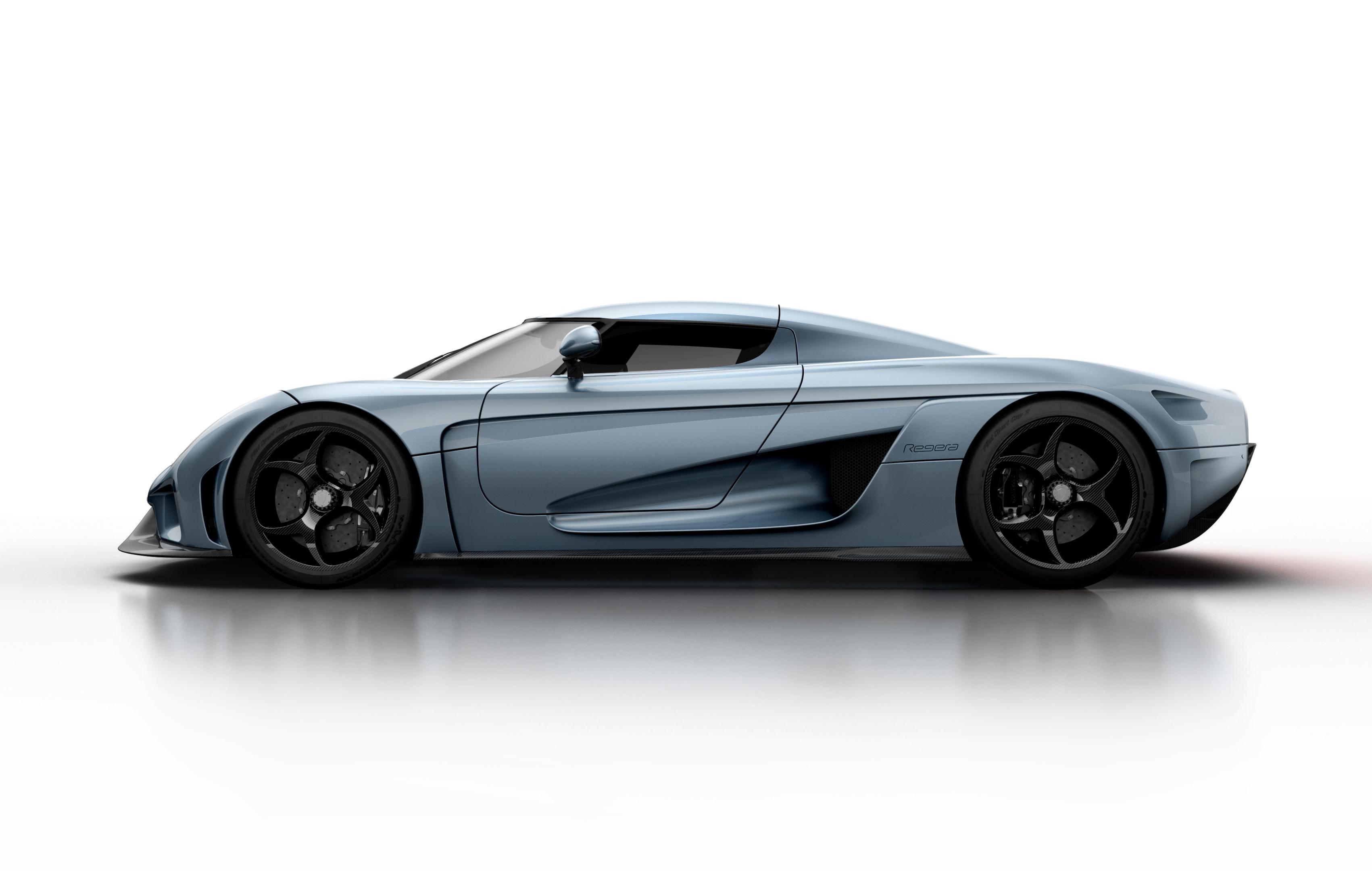 Koenigsegg Regera - profil