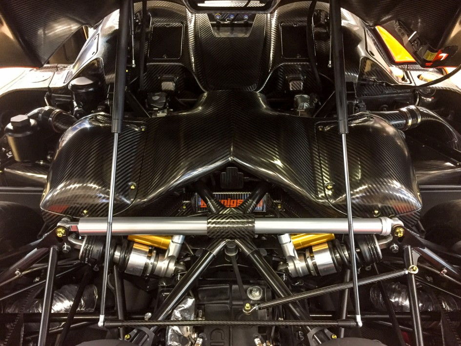 Koenigsegg engine V8