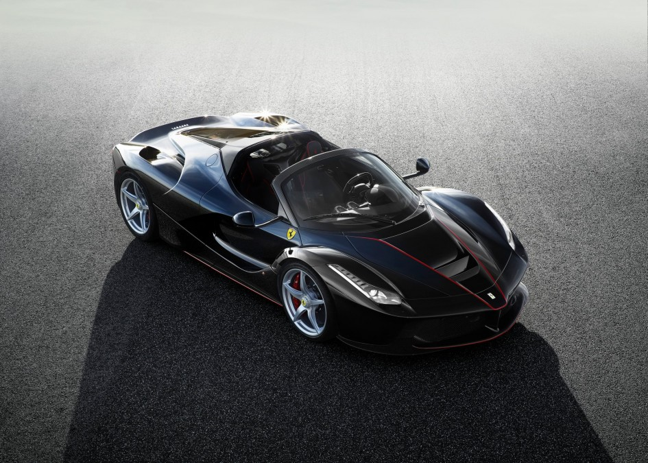 LaFerrari - open top - 2016 - black rosso