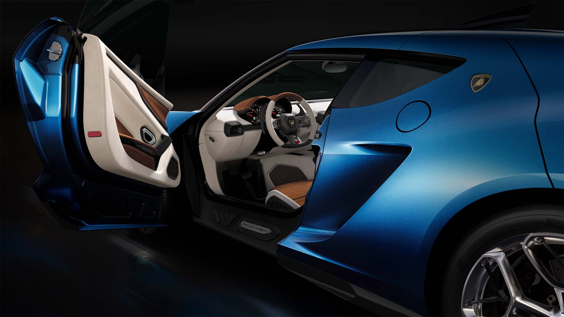 Lamborghini Asterion LPI 910-4 - benvenuto