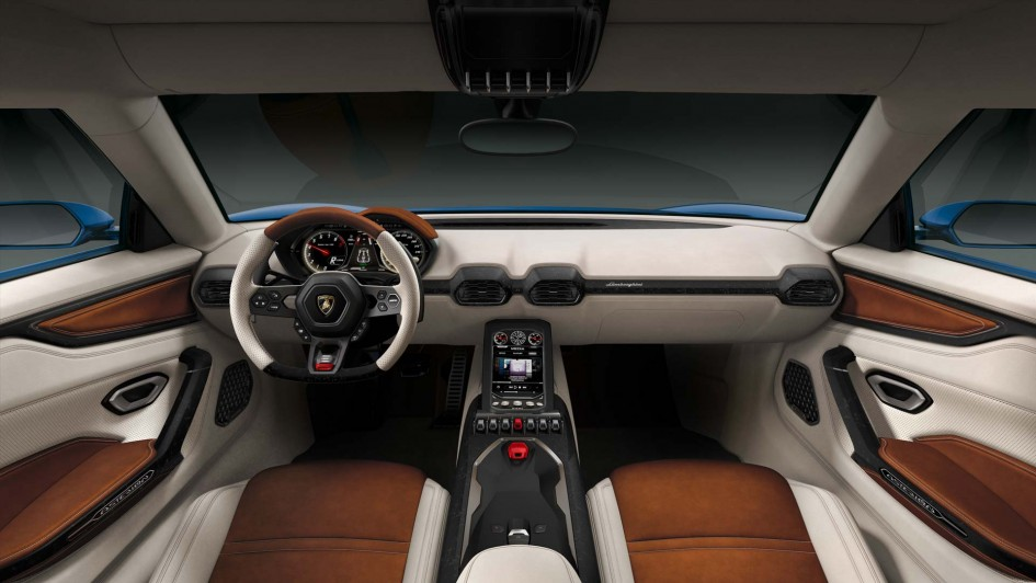 Lamborghini Asterion LPI 910-4 - Intérieur