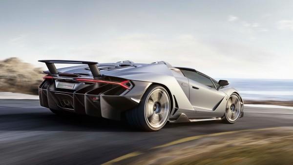 Lamborghini Centenario-Roadster - 2016 - rear / arrière